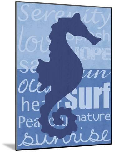 Beach Horse-Lauren Gibbons-Mounted Art Print