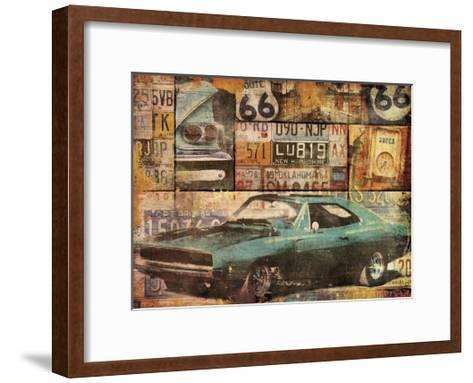 Cruising-Jace Grey-Framed Art Print