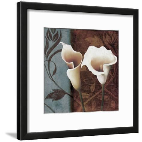 Calla Lily to The Right-Lucas Hunter-Framed Art Print