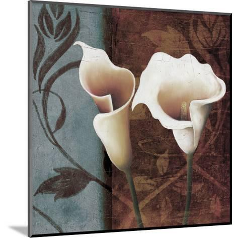 Calla Lily to The Right-Lucas Hunter-Mounted Art Print