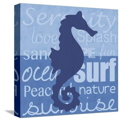Beach Horse-Lauren Gibbons-Stretched Canvas Print