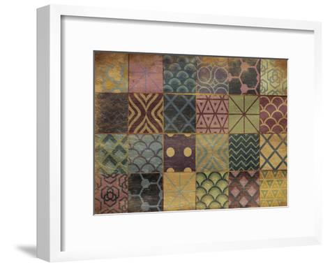 Fall Patch-Jace Grey-Framed Art Print
