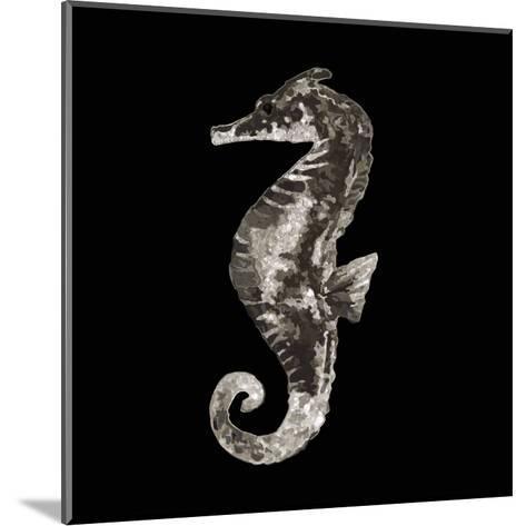 Coastal Seahorse 2-Victoria Brown-Mounted Art Print