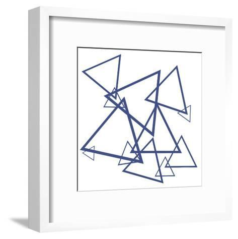 Triangles-Victoria Brown-Framed Art Print