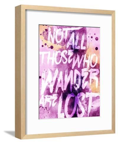 Wander Lost-OnRei-Framed Art Print