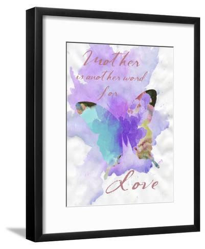 Mother Watercolor-Sheldon Lewis-Framed Art Print