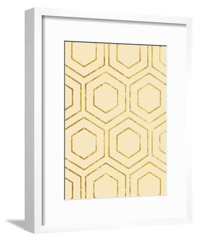 Geo Cream-Sheldon Lewis-Framed Art Print