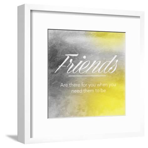 Friends Sun-Jace Grey-Framed Art Print