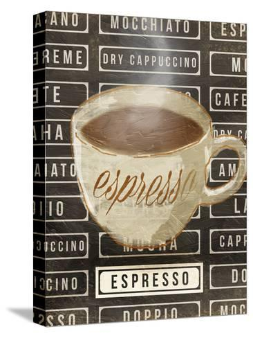 Espresso-OnRei-Stretched Canvas Print