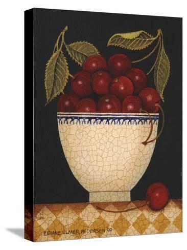 Cup O Cherries-Diane Ulmer Pedersen-Stretched Canvas Print