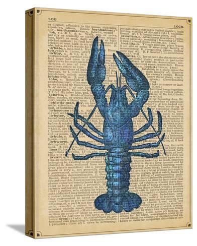 Vintage Lobster-Sparx Studio-Stretched Canvas Print