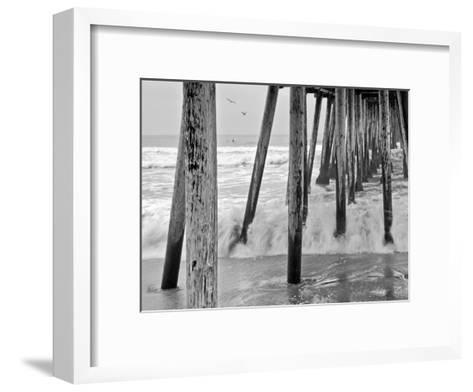 Imperial Beach Pier #1-Murray Bolesta-Framed Art Print