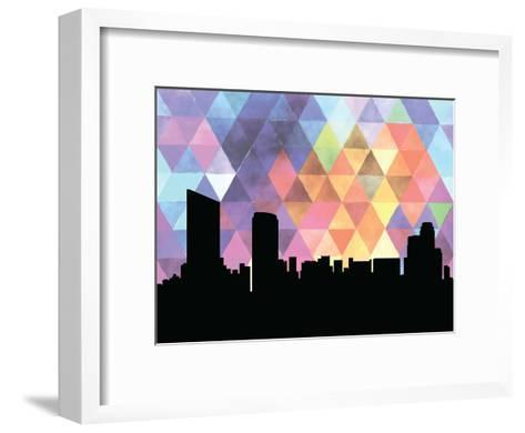 Grandrapids Triangle--Framed Art Print