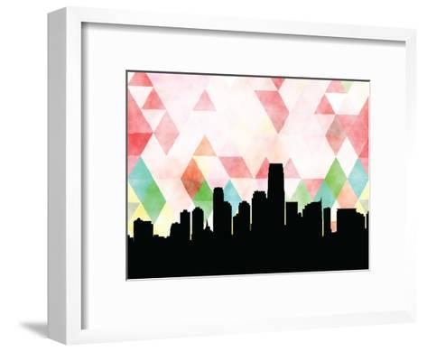 Jersey City Triangle--Framed Art Print