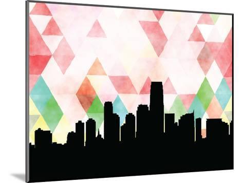 Jersey City Triangle--Mounted Art Print