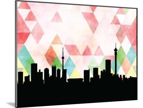 Johannesburg Triangle--Mounted Art Print