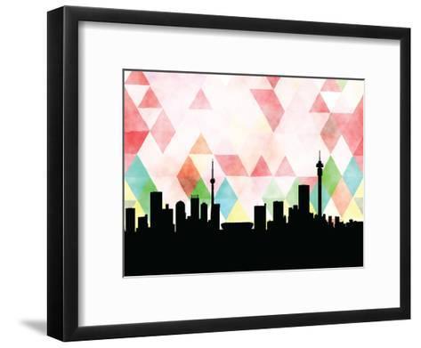 Johannesburg Triangle--Framed Art Print