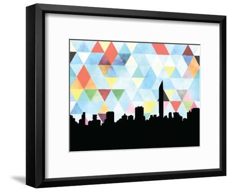 Mumbai Triangle--Framed Art Print