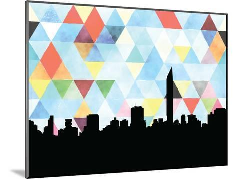 Mumbai Triangle--Mounted Art Print