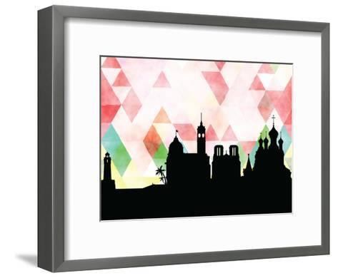 Nice Triangle--Framed Art Print