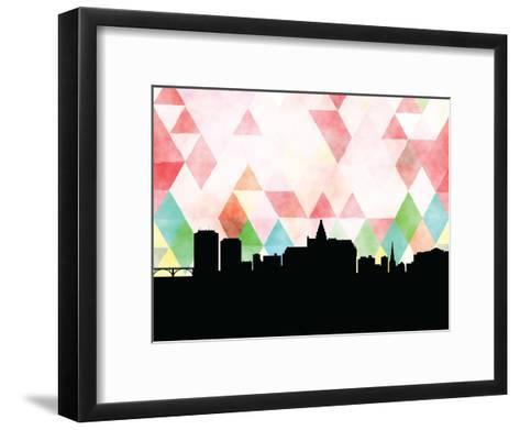 Saskatoon Triangle--Framed Art Print
