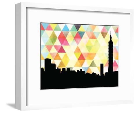 Taipei Triangle--Framed Art Print