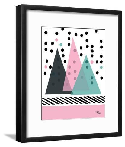 Mountain Rain-Ashlee Rae-Framed Art Print