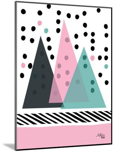 Mountain Rain-Ashlee Rae-Mounted Art Print