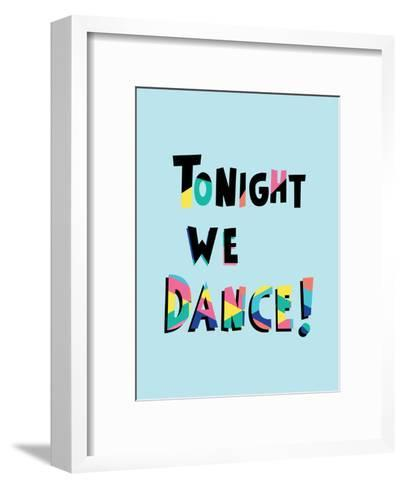 Tonight We Dance-Ashlee Rae-Framed Art Print