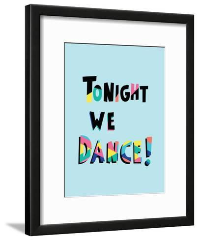 Tonight We Dance-Ashlee Rae-Framed Art Print