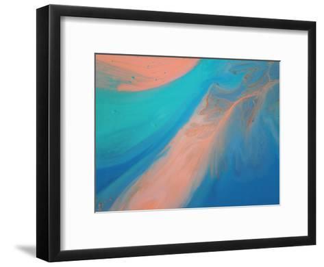 Golden Marble-Deb McNaughton-Framed Art Print