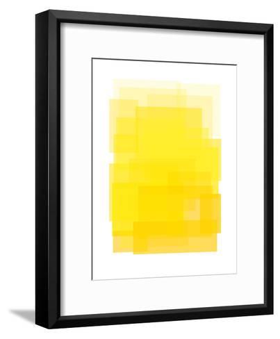Yellow Ombre-Ashlee Rae-Framed Art Print