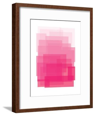 Pink Ombre-Ashlee Rae-Framed Art Print