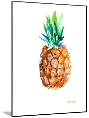 Pineapple-Suren Nersisyan-Mounted Art Print
