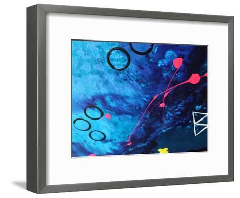 XO Splatter-Deb McNaughton-Framed Art Print