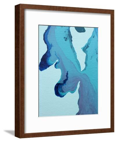 Stained Blue-Deb McNaughton-Framed Art Print
