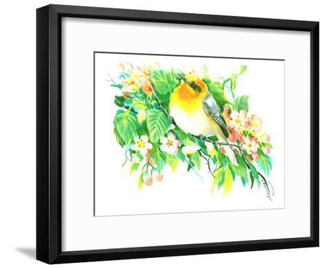 Songbird, Warbler-Suren Nersisyan-Framed Art Print