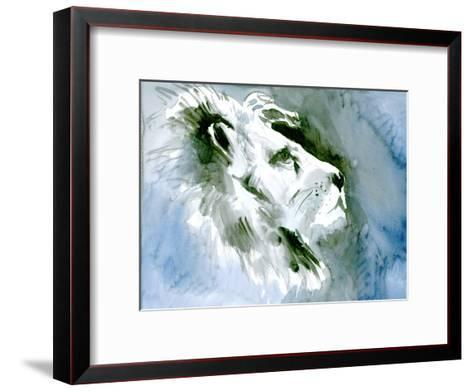 Lion Portrait-Suren Nersisyan-Framed Art Print