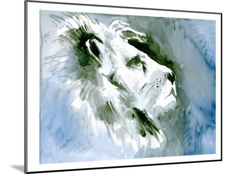 Lion Portrait-Suren Nersisyan-Mounted Art Print