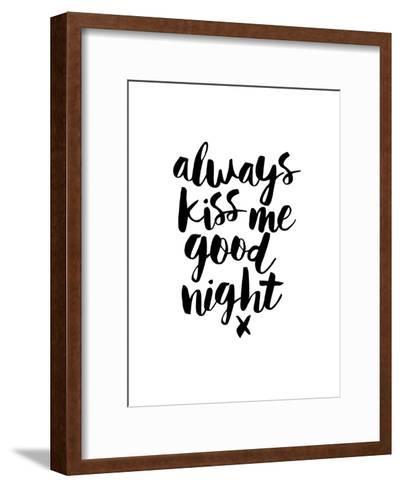 Always Kiss Me Goodnight-Brett Wilson-Framed Art Print
