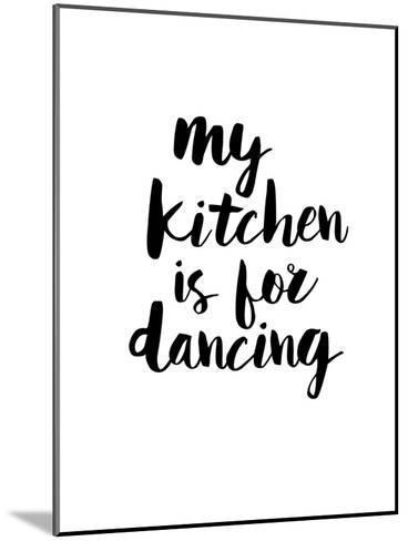 My Kitchen is for Dancing-Brett Wilson-Mounted Art Print
