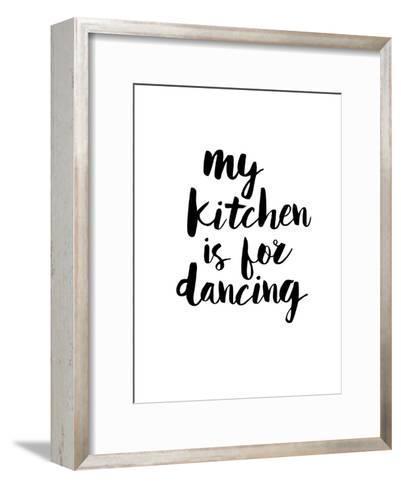 My Kitchen is for Dancing-Brett Wilson-Framed Art Print