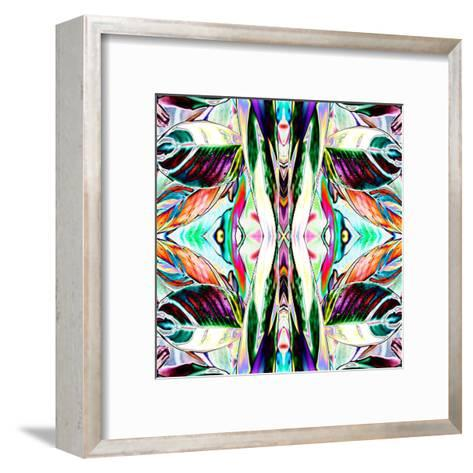 Featherleaf2-Rose Anne Colavito-Framed Art Print
