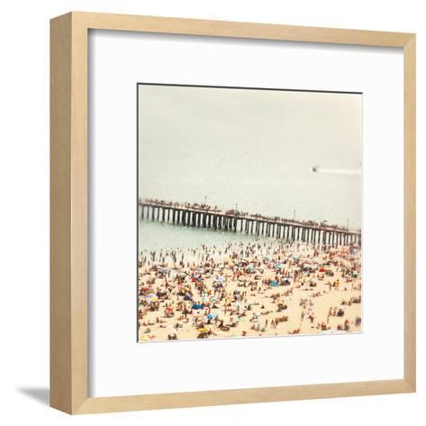 Coney Island Summer-Mina Teslaru-Framed Art Print