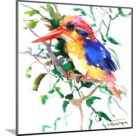 Oriental Kingfisher-Suren Nersisyan-Mounted Art Print
