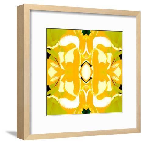 Lemon Canna2-Rose Anne Colavito-Framed Art Print