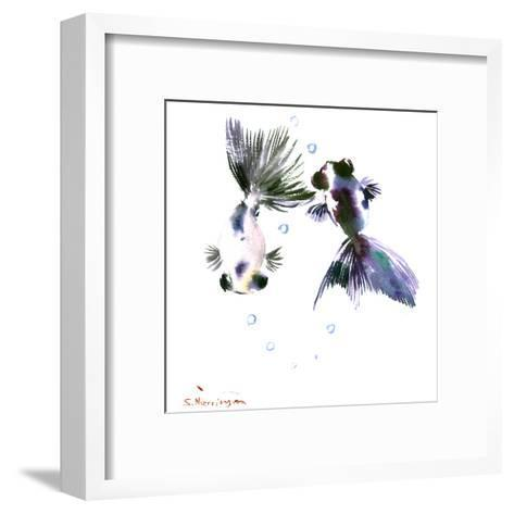 Panda Goldfish-Suren Nersisyan-Framed Art Print