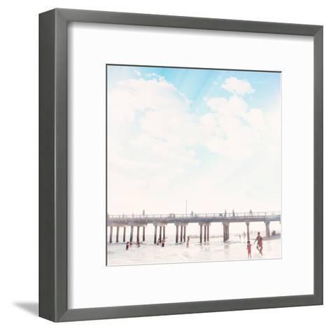 Island Dreaming-Mina Teslaru-Framed Art Print