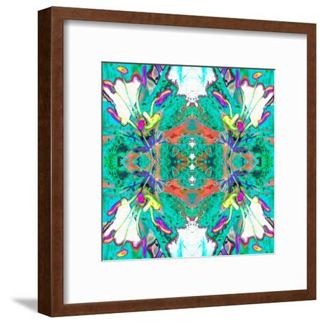 Lily Butterflies-Rose Anne Colavito-Framed Art Print