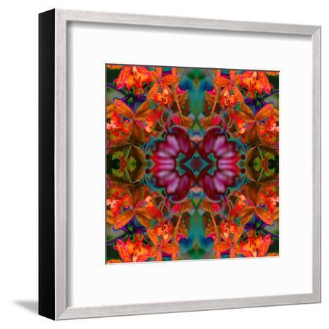 Yellow Orchids 2-Rose Anne Colavito-Framed Art Print